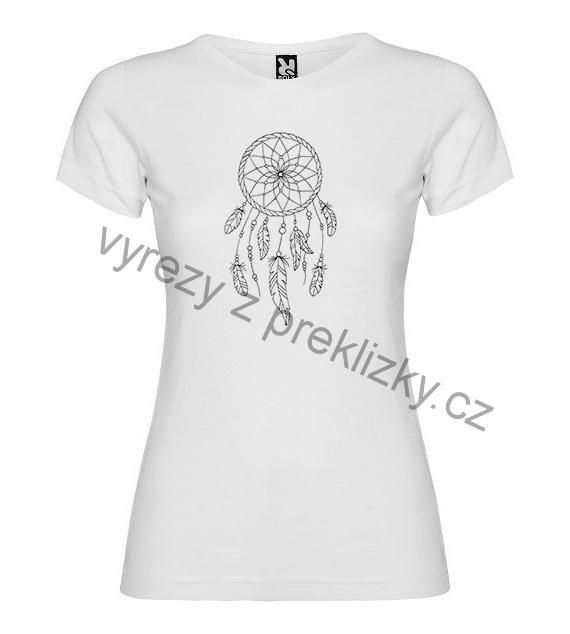 Dámské tričko Jamaica s potiskem MANDALA 19bd5730bf
