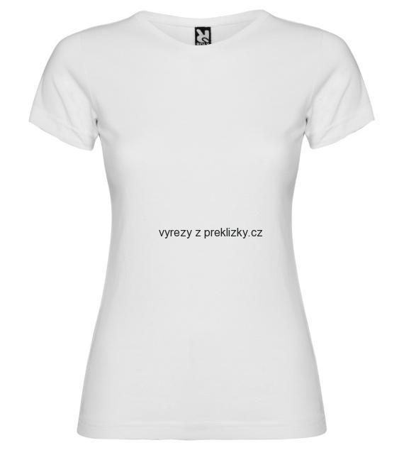 Dívčí tričko Jamaica - bílé a černé 8cb5391b09
