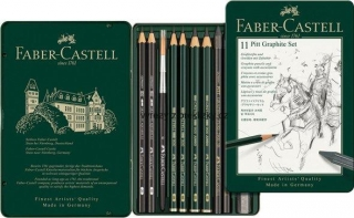 PITT Graphite Set Castell, 11ks